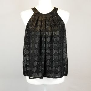 ASTR Sleeveless Cropped Blouse